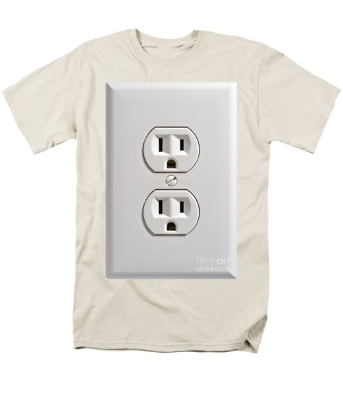 Electrical Outlet T-Shirt by Olivier Le Queinec