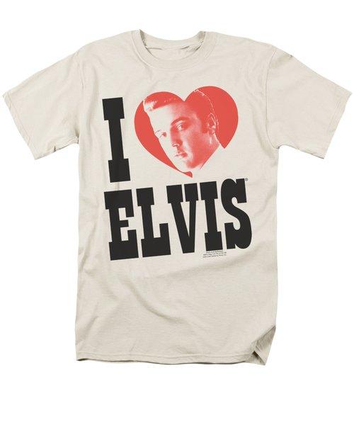 Elvis - I Heart Elvis Men's T-Shirt  (Regular Fit) by Brand A