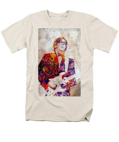 Eric Claptond Men's T-Shirt  (Regular Fit) by Bekim Art