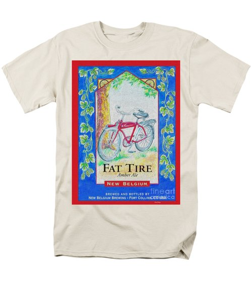 Fat Tire T-Shirt by Cheryl Young