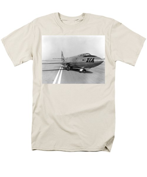 Men's T-Shirt  (Regular Fit) featuring the photograph First Supersonic Aircraft, Bell X-1 by Science Source