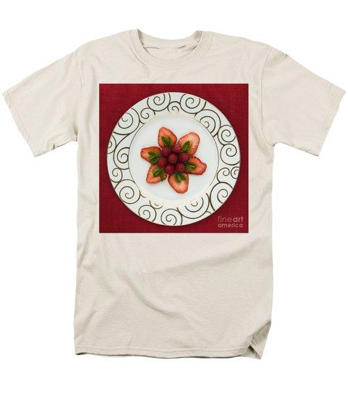 Flowering Fruits Men's T-Shirt  (Regular Fit) by Anne Gilbert