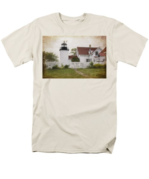 Fort Point Lighthouse T-Shirt by Joan Carroll