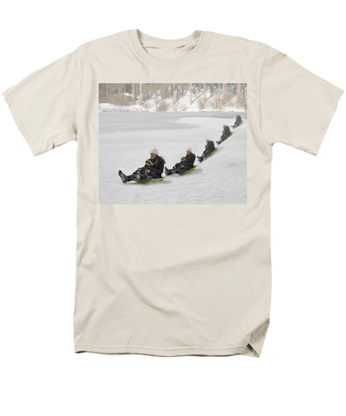 Fun In The Snow T-Shirt by Susan Candelario