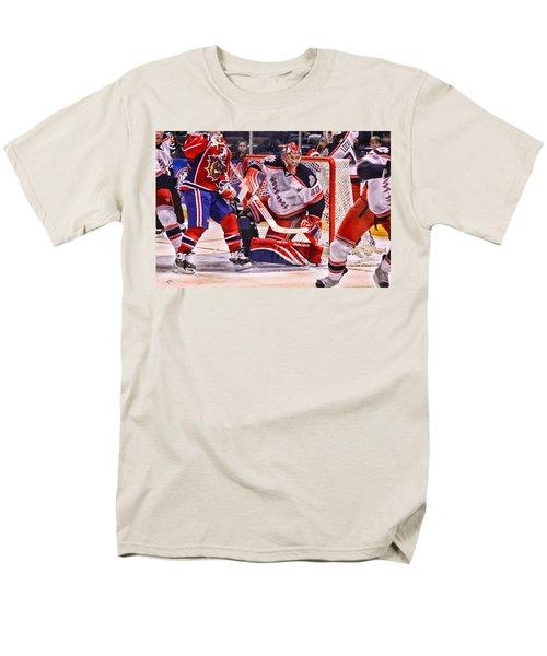 Goaltending T-Shirt by Karol  Livote