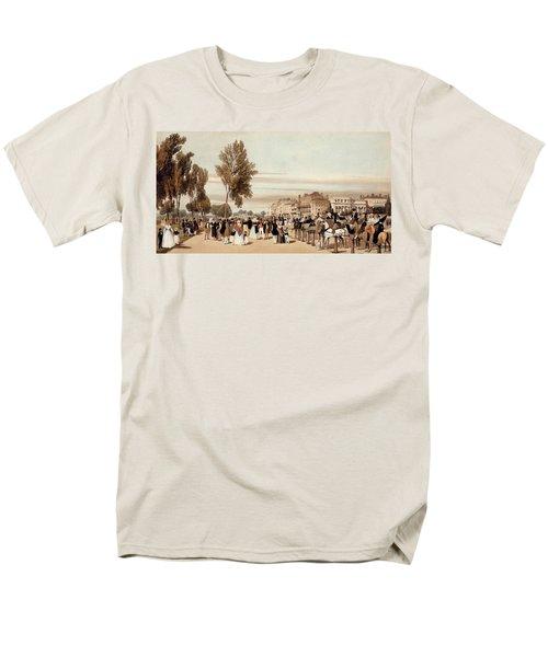 Hyde Park, Towards The Grosvenor Gate Men's T-Shirt  (Regular Fit) by Thomas Shotter Boys