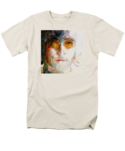 John Winston Lennon T-Shirt by Paul Lovering