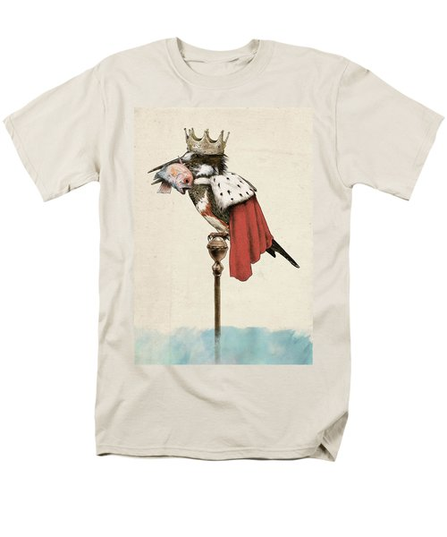 Kingfisher Men's T-Shirt  (Regular Fit) by Eric Fan