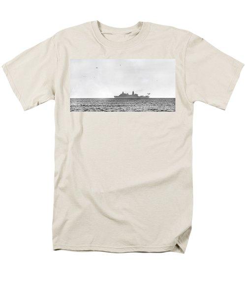 Landing On The Horizon Men's T-Shirt  (Regular Fit) by Betsy Knapp