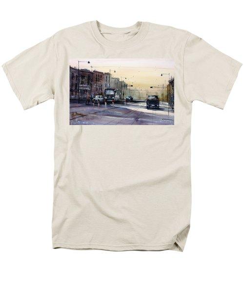 Last Light - College Ave. T-Shirt by Ryan Radke