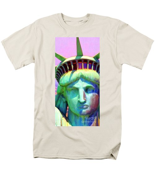 Liberty Head Painterly 20130618 Long T-Shirt by Wingsdomain Art and Photography