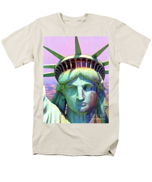 Liberty Head Painterly 20130618 T-Shirt by Wingsdomain Art and Photography