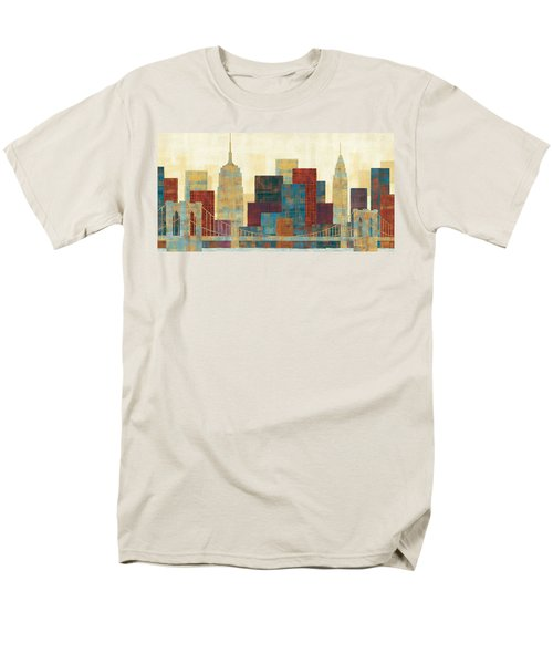 Majestic City Men's T-Shirt  (Regular Fit) by Michael Mullan