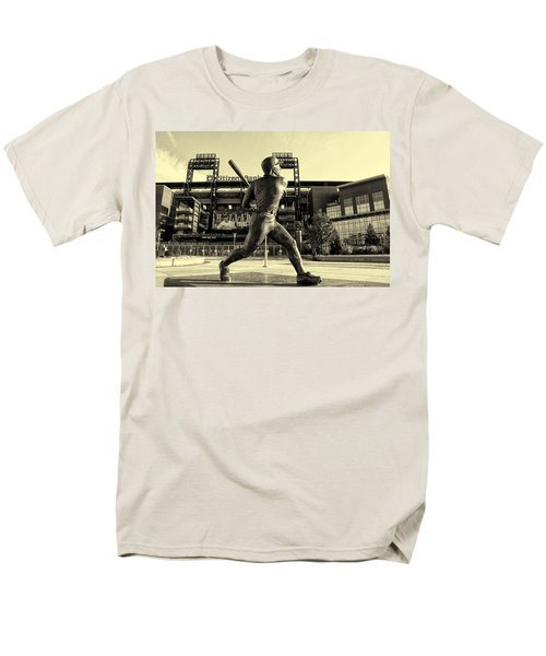 Mike Schmidt at Bat T-Shirt by Bill Cannon