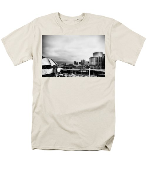 Minneapolis From The University Of Minnesota Men's T-Shirt  (Regular Fit) by Tom Gort