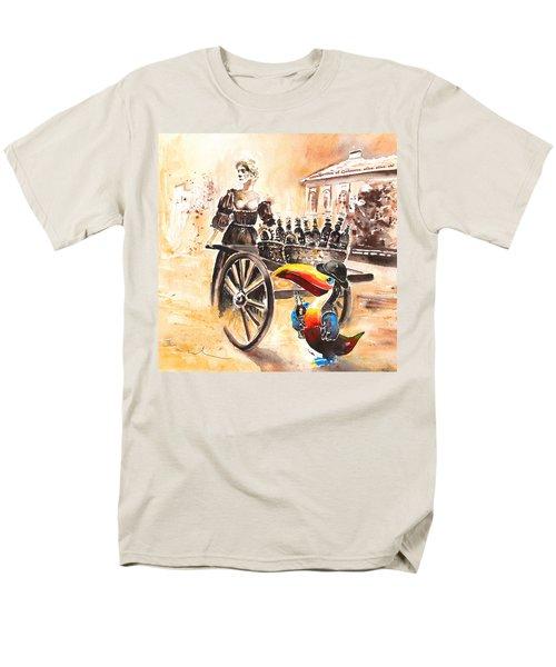 Molly Malone Men's T-Shirt  (Regular Fit) by Miki De Goodaboom