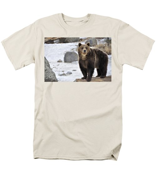 Montana Grizzly  T-Shirt by Fran Riley