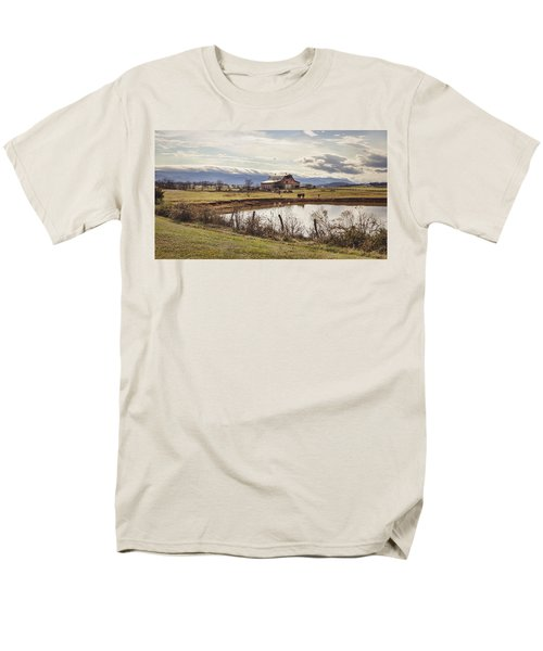 Mountain View Barn T-Shirt by Heather Applegate