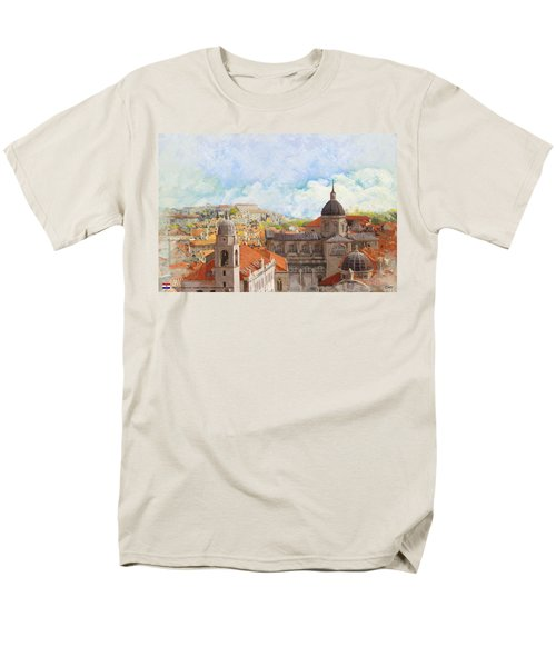Old City of Dubrovnik T-Shirt by Catf