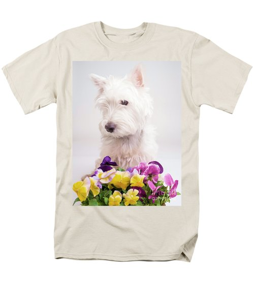 Pansies T-Shirt by Edward Fielding