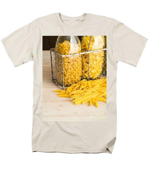 Pasta Shapes Still Life T-Shirt by Edward Fielding