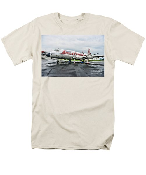Plane Props on Capital Airlines T-Shirt by Paul Ward