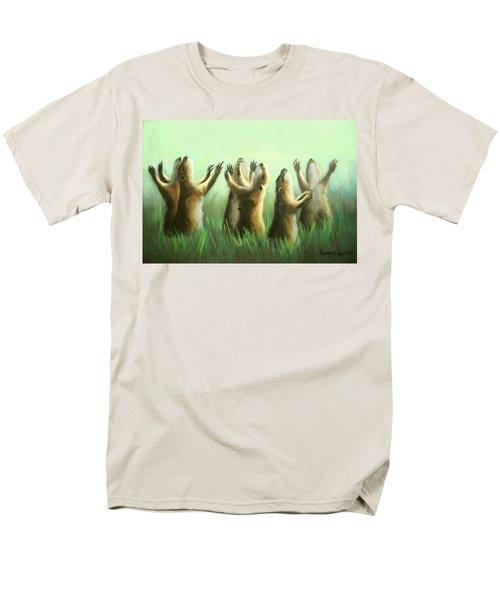 Praising Prairie Dogs T-Shirt by Anthony Falbo