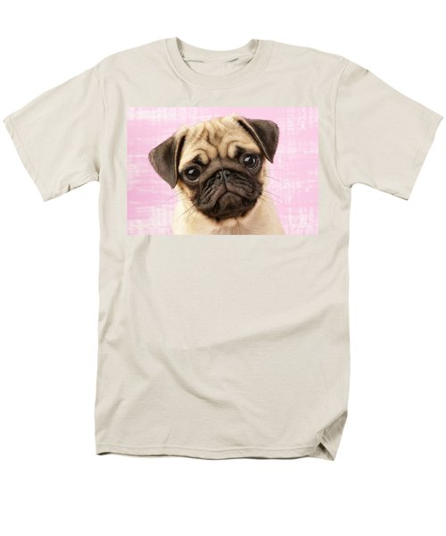 Pug Portrait T-Shirt by Greg Cuddiford