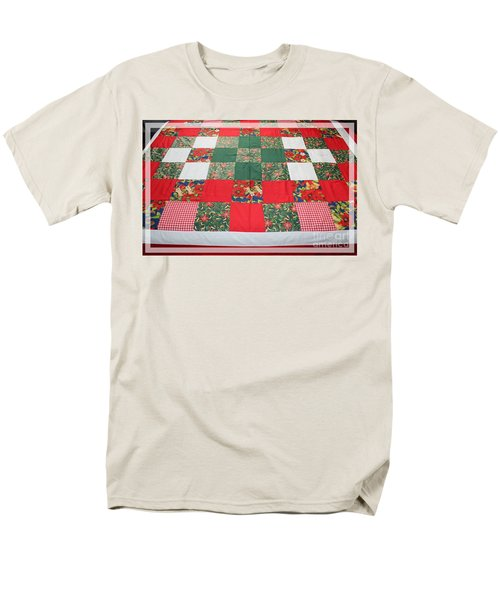 Quilt Christmas Blocks T-Shirt by Barbara Griffin