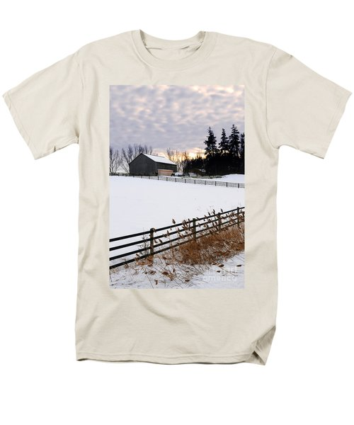 Rural winter landscape T-Shirt by Elena Elisseeva