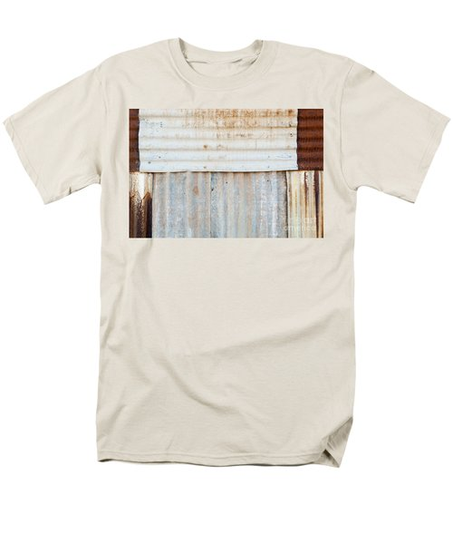 Rusted Metal Background T-Shirt by Tim Hester
