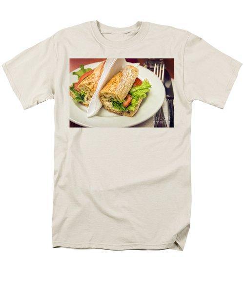 Sandwish On Table Men's T-Shirt  (Regular Fit) by Carlos Caetano