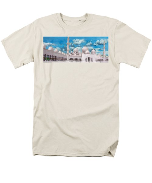 Sheikh Zayed Mosque T-Shirt by Catf