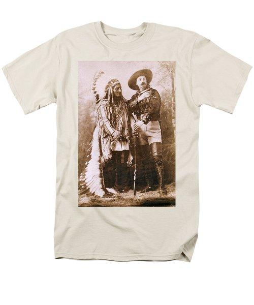 Sitting Bull and Buffalo Bill T-Shirt by Unknown