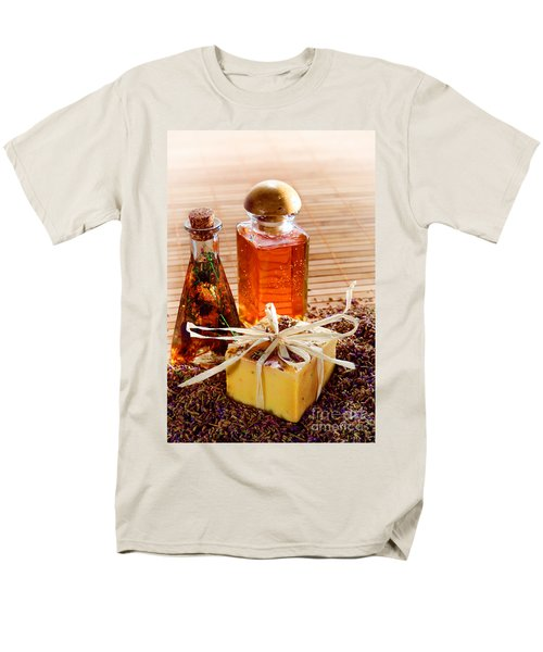 Soap and Fragrance Oils T-Shirt by Olivier Le Queinec