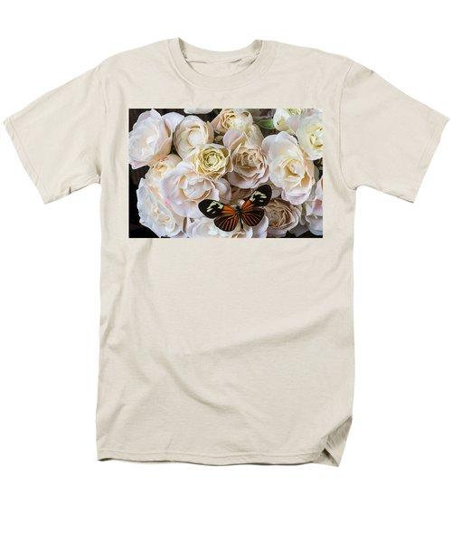 Spray roses T-Shirt by Garry Gay
