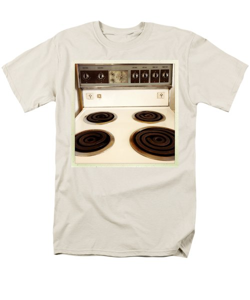 Stove top T-Shirt by Les Cunliffe