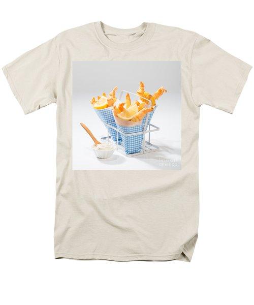 Tempura Prawns Men's T-Shirt  (Regular Fit) by Amanda Elwell