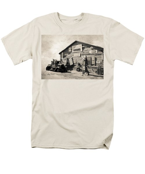 Texaco Gas Station T-Shirt by Athena Mckinzie
