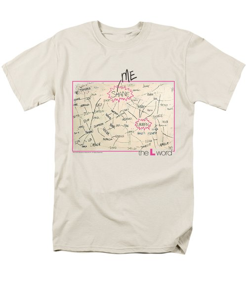 The L Word - Chart Men's T-Shirt  (Regular Fit) by Brand A