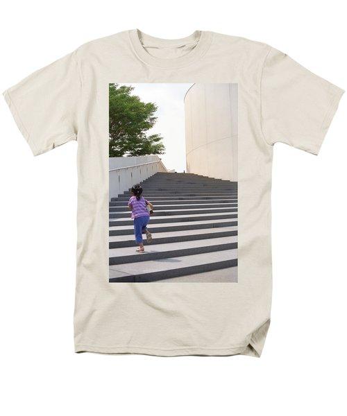 The Long Climb T-Shirt by Frank Romeo