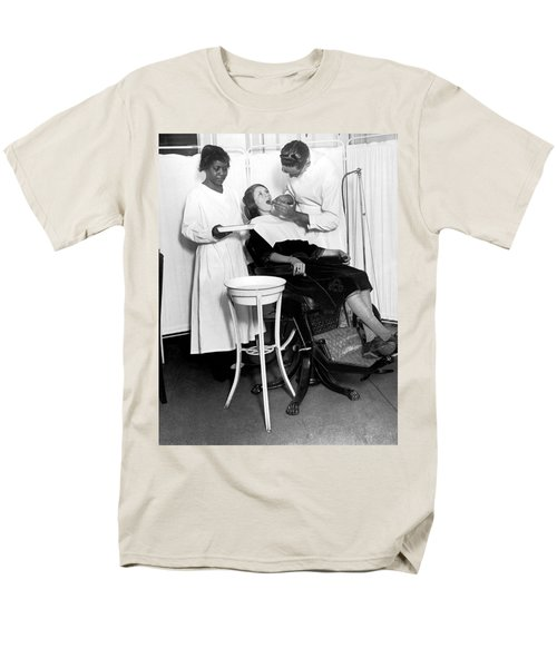 The North Harlem Dental Clinic Men's T-Shirt  (Regular Fit) by Underwood Archives