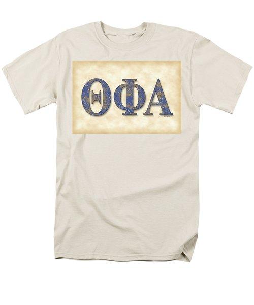 Theta Phi Alpha - Parchment Men's T-Shirt  (Regular Fit) by Stephen Younts