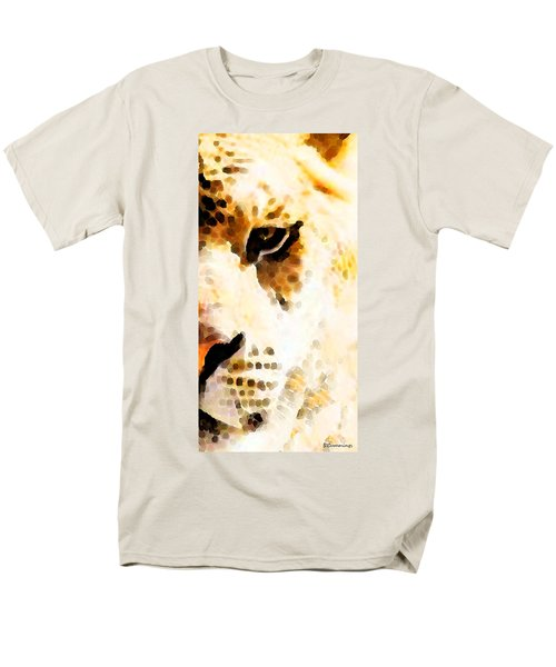 Tiger Art - Pride T-Shirt by Sharon Cummings