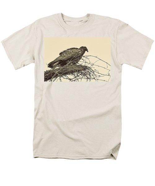 Turkey Vulture V2 Men's T-Shirt  (Regular Fit) by Douglas Barnard
