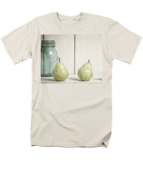 Two Pear Still Life T-Shirt by Edward Fielding