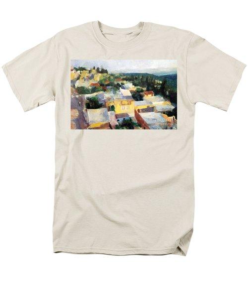 Tzfat T-Shirt by David Baruch Wolk