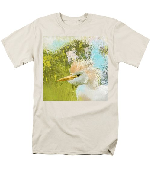 White Kingfisher Men's T-Shirt  (Regular Fit) by Catf