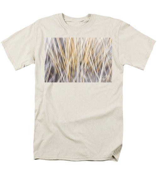 Winter grass abstract T-Shirt by Elena Elisseeva
