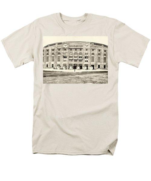 Yankee Stadium Men's T-Shirt  (Regular Fit) by Bill Cannon